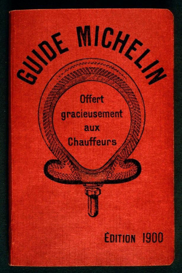 Pierwsze wydanie przewodnika Michelin z 1900 r. Zdjęcie: Michelin.