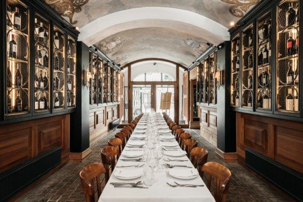 Wnętrze restauracji Kogel Mogel w Krakowie. Zdjęcie: materiały prasowe.